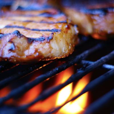 Grilled Maple Dijon Pork Chops Recipe