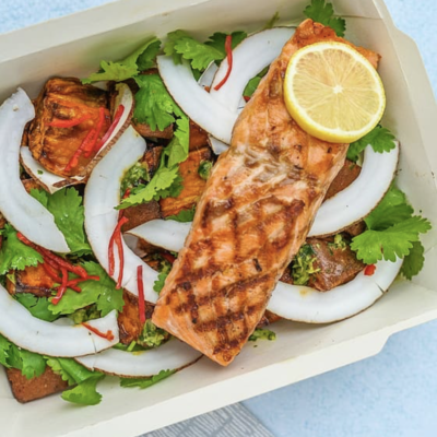 Best Grilled Salmon Fillet Recipe