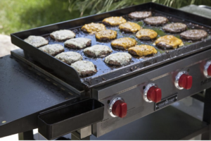 Tips to clean a Flat Top Chrome Grill