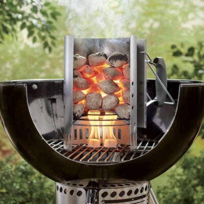 How To Light A Charcoal Chimney On A Windy Day