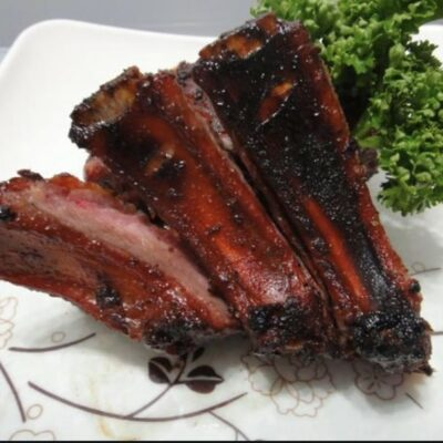 Smoked Pork Ribs Recipe on a Traeger Grill