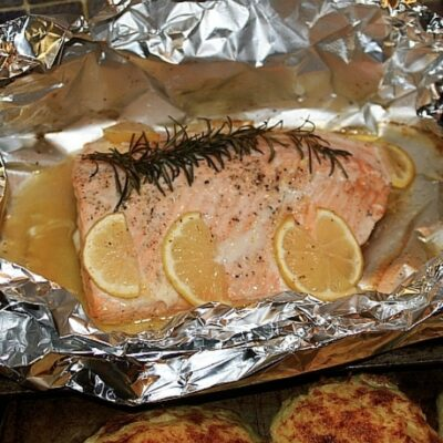 How Long To Grill Salmon In Foil