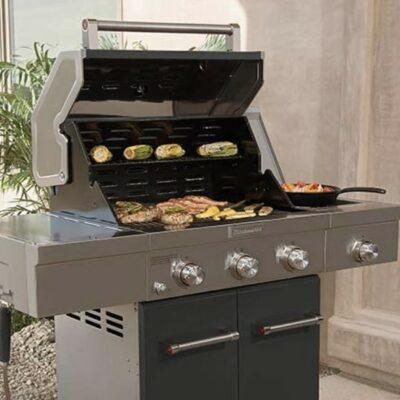 Kitchenaid Vs Weber E-335 Grill- Better Propane Gas Grill?